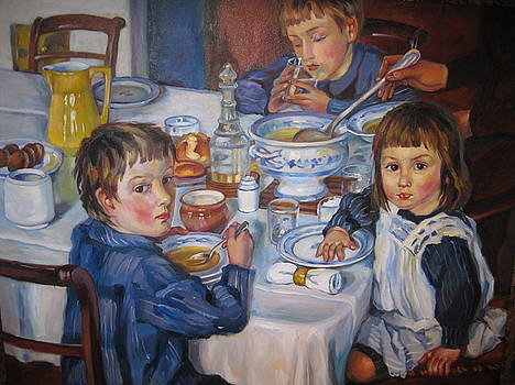 Breakfast by Ekaterina Pozdniakova