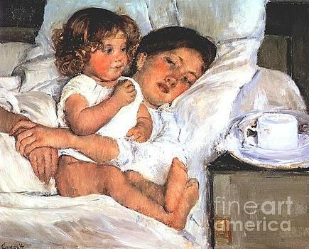 Cassatt - Breakfast In Bed