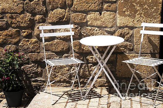 Breakfast in the sun by Daniela White