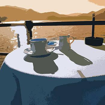 James Hill - Breakfast on Lake Maggiore