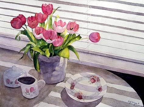 Breakfast with Tulips by Lizbeth McGee