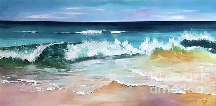 Breaking Wave by Shirley Lennon