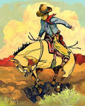 Break'n To The Saddle by Donn Kay