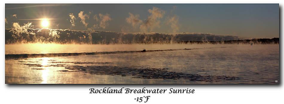 Breakwater Sunrise by John Meader