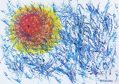 Breathe with the Sun by Alfredo Correa