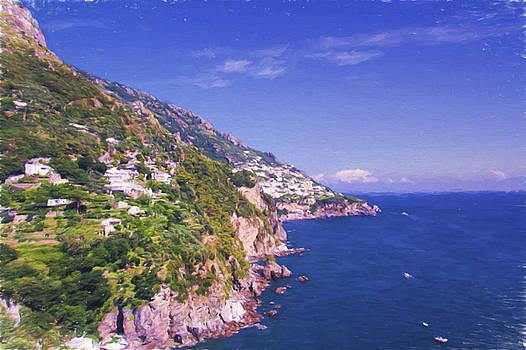 Breathtaking Amalfi Coast by Daphne Sampson