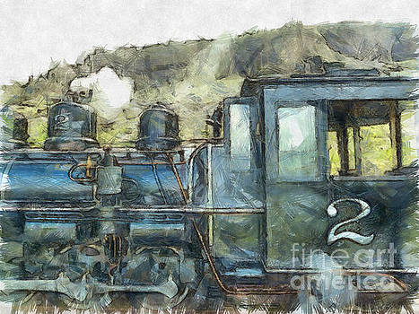 Claire Bull - Brecon Mountain Railway Train No.2
