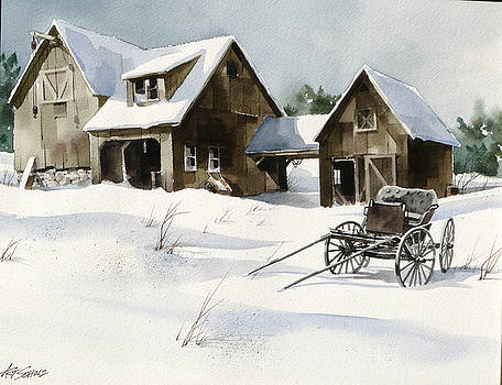 Breezy Barns 'n Buggy by Art Scholz