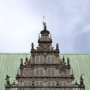 Bremen medieval town hall detail by Adrian Hancu