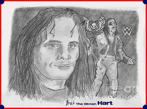 Bret The Hitman Hart by Chris  DelVecchio