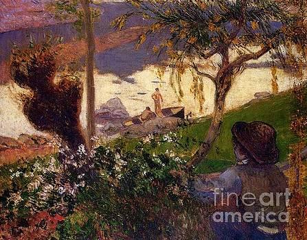 Gauguin - Breton Boy By The Aven River