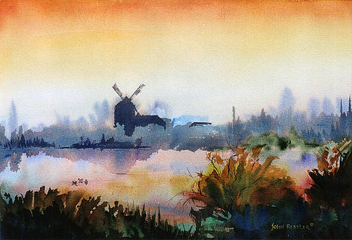 Breton Morning Light by John Ressler