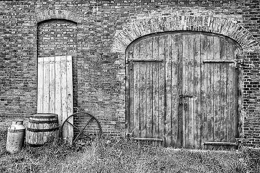 Brewhouse Door by Nick Bywater