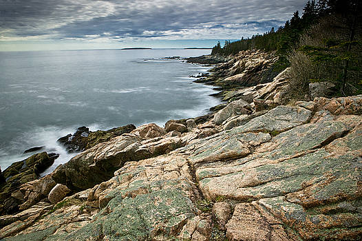 Brewing Storm Over Otter Point by Brent L Ander