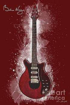Brian May Guitar by Tim Wemple