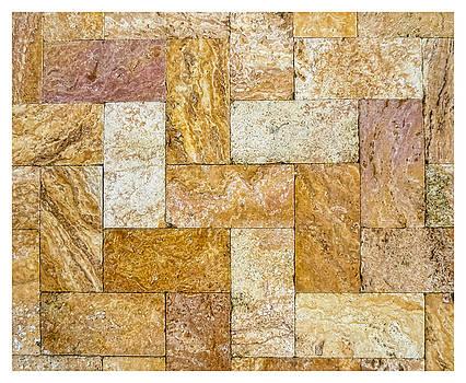 TONY GRIDER - Brick Abstract with Border -01