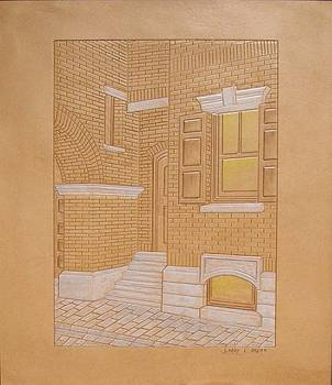 Brick Buildings by Larry Bruhn