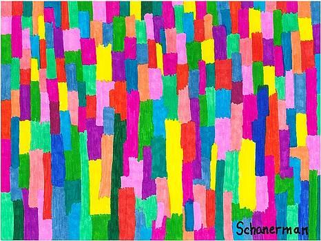 Brick By Brick - The Rainbow Way by Susan Schanerman