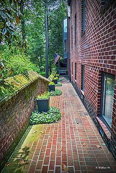 Brick Walk by Brian Wallace