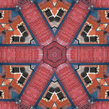 Brick Walkway Kaleidoscope by Cindi Ressler