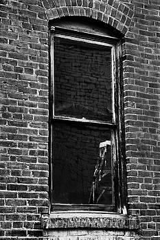 Brick Wall Window by David Lunde