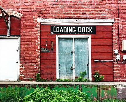 Bricks at the Loading Dock by Lexi Heft