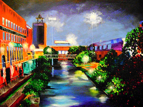 Bricktown OKC by Barbara Sudik