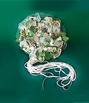 Bridal Money Bouquet by Elle Smith Fagan