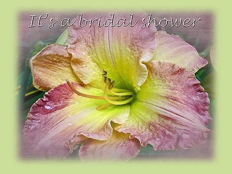 Mother Nature - Bridal Shower Invitation - Fancy Daylily