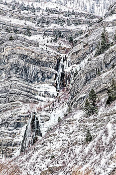 Bridal Veil Falls by David Millenheft
