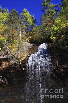 Jill Lang - Bridal Veil Falls in NC