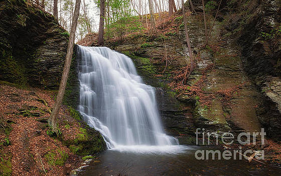 Bridal Veil Falls  by Michael Ver Sprill
