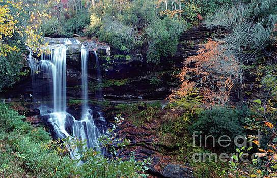Bridal Veil Waterfalls by Debra Crank