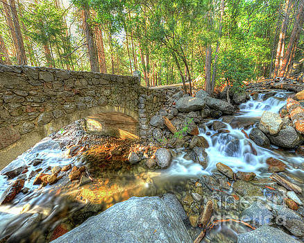 Michael Tidwell - Bridalveil Creek at Yosemite by Michael Tidwell