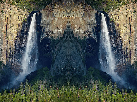 Bridalveil Fall Mirror  by Kyle Hanson