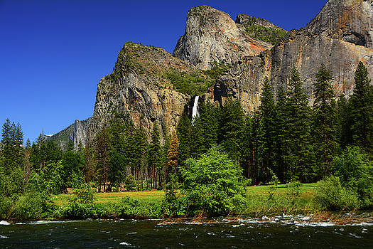 Bridalveil Falls from Gates of the Valley by Raymond Salani III