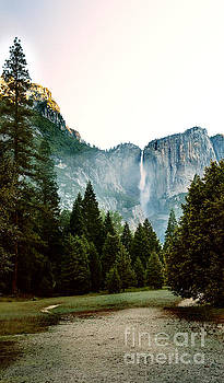 Bridalveil Falls in Yosemite by MaryJane Armstrong