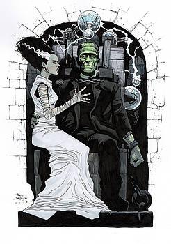 Bride of Frankenstein by Paul Davidson