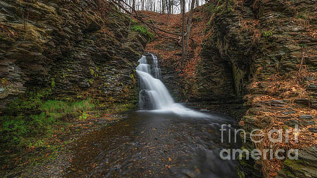 Bridesmaid Falls Panorama by Michael Ver Sprill