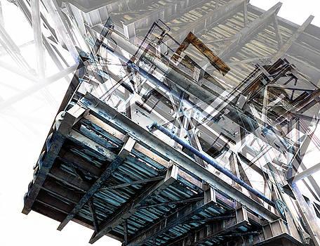Bridge Abstract by Wayne Sherriff