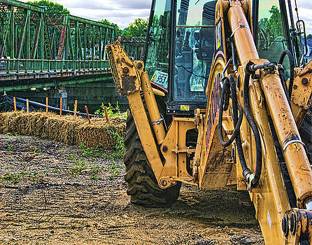 Bridge and Tractor 3 by Bruce Wood