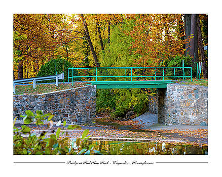 Bridge at Red Run Park by Andy Smetzer