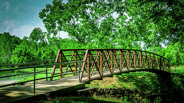 Bridge at Ritter Springs by Allin Sorenson