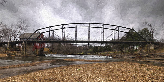 Bridge at the Mill by Joe Sparks