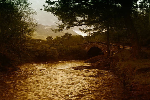 Bridge at the River Coe by Mark Denham