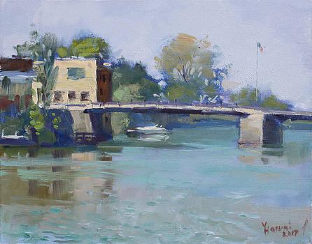 Bridge at Tonawanda Canal by Ylli Haruni