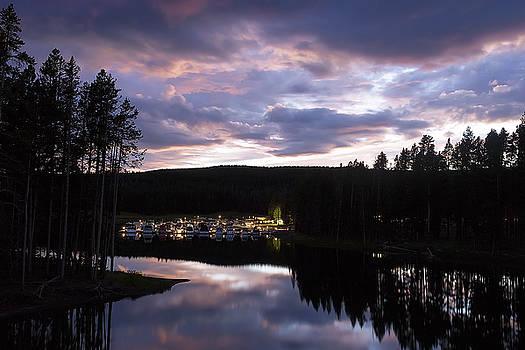 Bridge Bay Sunset by Cynthia Bruner