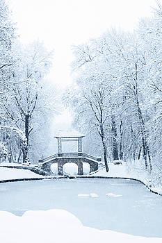bridge for lovers by Iuliia Malivanchuk by Iuliia Malivanchuk