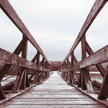 Bridge In Black And White by Amanda Richter