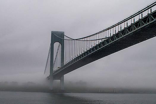Bridge in Fog by Ashleigh Mowers